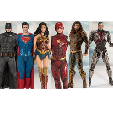 Justice League Figures 18cm Aquaman Superman Batman Cyborg Wonder Woman Flash