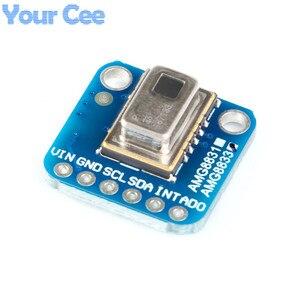 Image 4 - AMG8833 IR 8*8 termal kamera dizi sıcaklık sensörü modülü 8x8 kızılötesi kamera sensörü