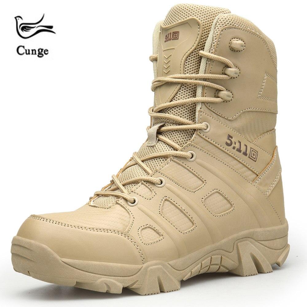 CUNGE Randonnée Escalade Chaussures DELTA Professionnel Étanche Randonnée Bottes Tactique Bottes de Montagne En Plein Air Escalade Baskets de Sport