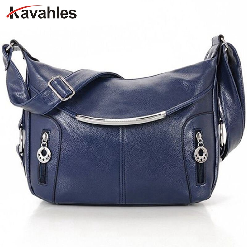 цены на Women Messenger Bags Hobos Women Bag PU Leather Crossbody Bags Women Shoulder Bag Ladies Handbags Bolsos C40-156