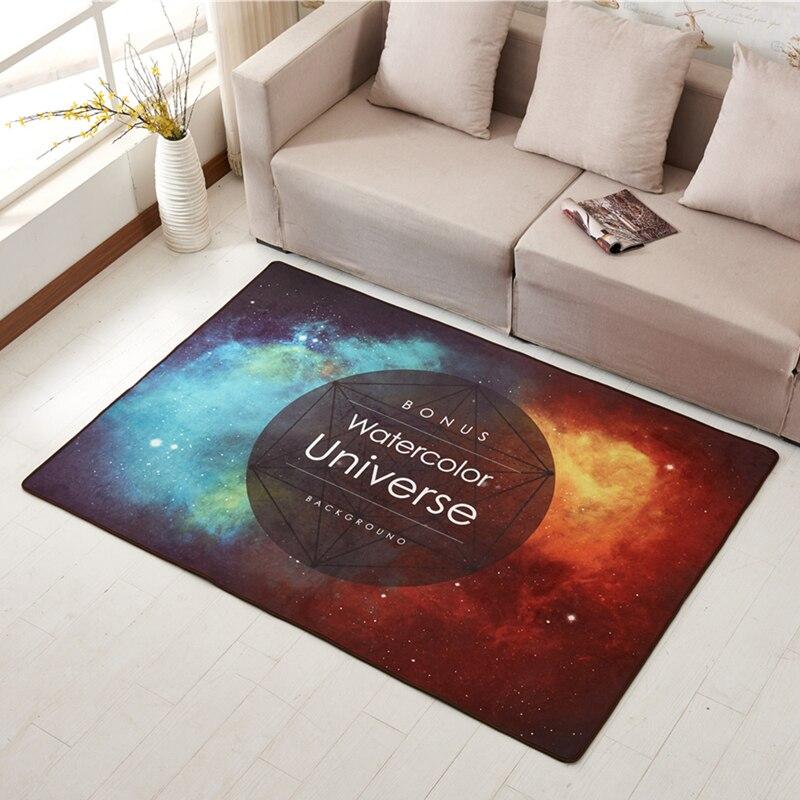 Творческий Луна Ковры Гостиная диван, обеденный Коврики на стол Спальня современный минималистский кабинет Ковры