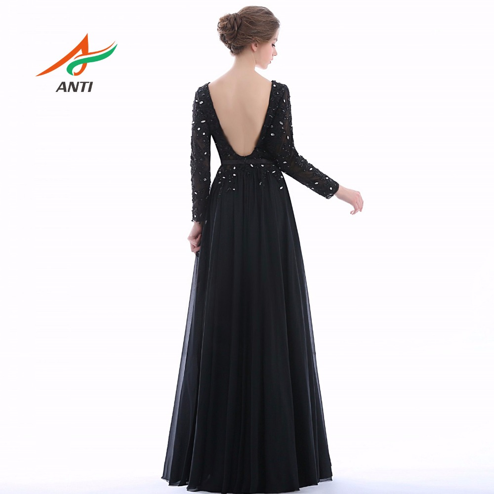 ANTI Sosire Noua Negre Mama Nepoata Imbracaminte rochie completa - Rochii de seară de nuntă - Fotografie 2