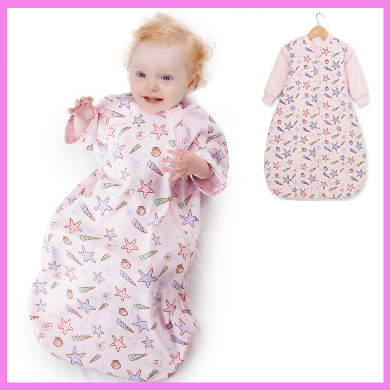 Pure Cotton Summer Baby Sleeping Bag Spring Autumn Children s Baby Stroller Anti Kick Swaddle Blanket