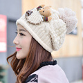 Hot Autumn Winter Skullies Toboggans Beanies Gorro Women Women's Ladies Fashion Cute Fleece Lined Soft Nap Plus Velvet