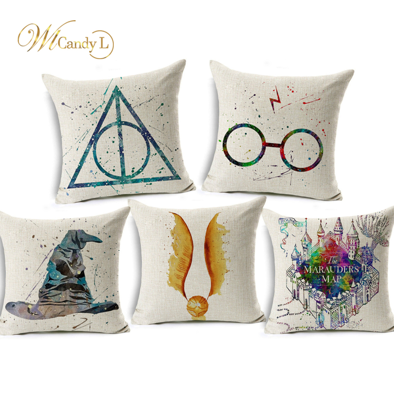 WL caramelo L Harry Potter Fundas de colchón Lino Cáliz de fuego ...