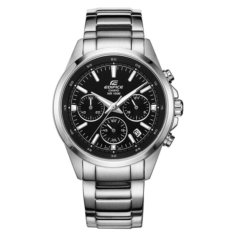 Nouvelle Marque De Luxe Montre Casio Edifice Hommes d'affaires décontractée imperméables de quartz mâle montre EFR-527 Mode Relogio Horloge Cadeau