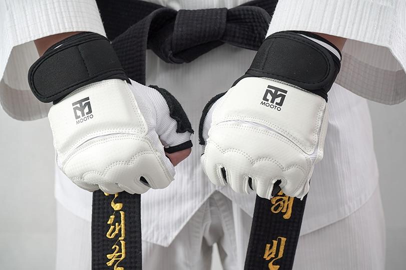 Taekwondo SANGMOOSA Hand Protector Gloves Guard Training Gear Martial Arts Glove