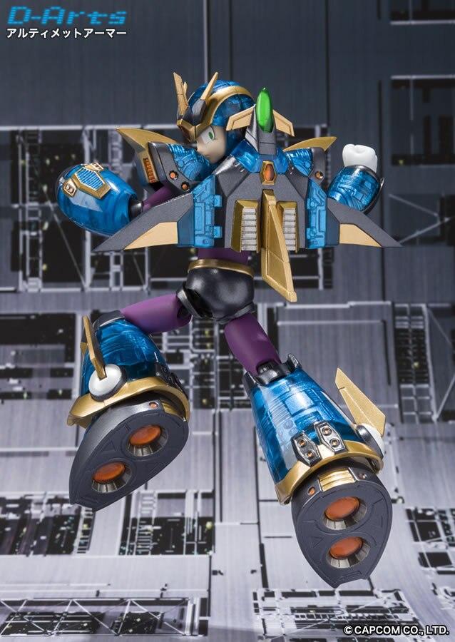 Japan Anime Rock Man / Megaman Original BANDAI Tamashii Nations D-Arts SHF Toy Action Figure - RockMan X Ultimate Armour