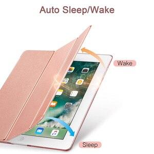 Image 4 - ESR Fall für iPad Air 3 2019 Yippee Trifold Smart Fall Auto Sleep/Wake Leichte Stand Fall Harte Zurück abdeckung für iPad Air 3rd