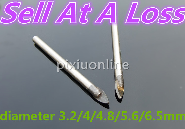 1pcs / lot K713 Trial Bit Tile Glass Bit Alite آلیاژ پانچ - مته