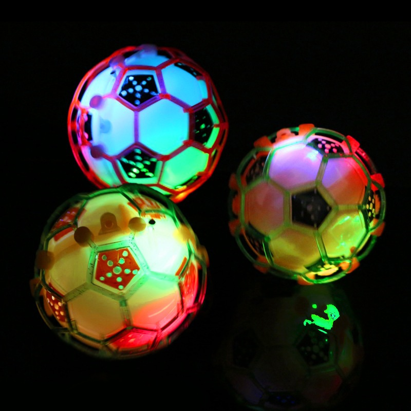LED Football Bouncing Dancing Ball Jumping Toy Balls Kids Crazy Music Flashing for Childrens Funny Toys Outdoor Fun Sports Toys