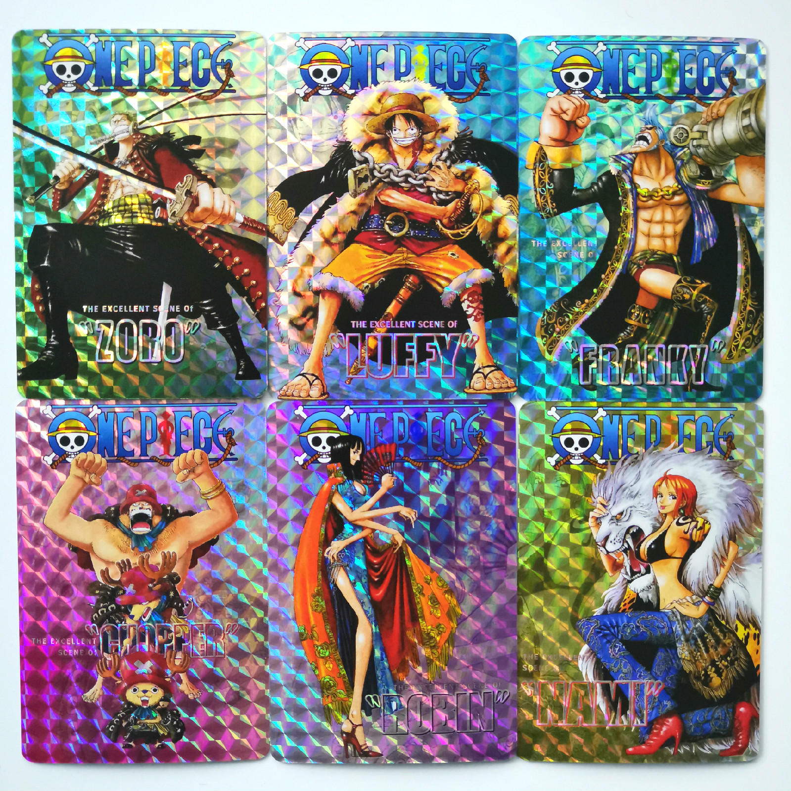 9pcs/set ONE PIECE Toys Collectibles Game Collection Anime Cards