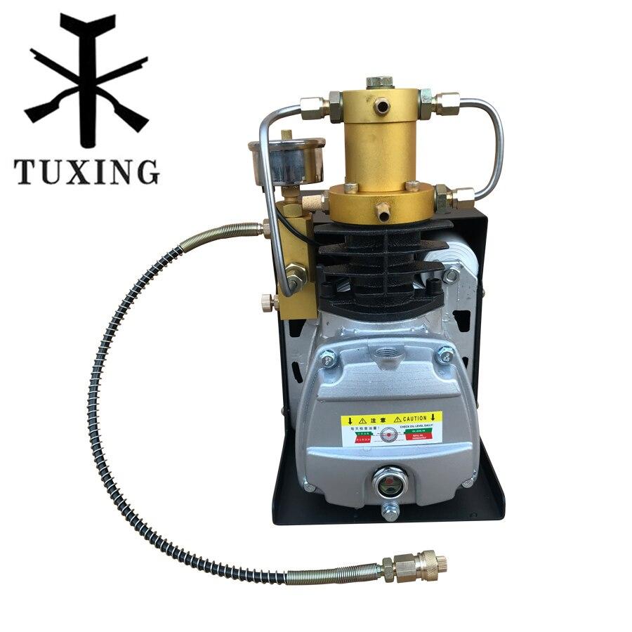 4500 psi compressor adjutable auto stop TUXING high pressure pump 110V 220V