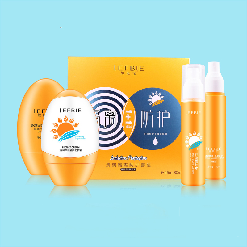 Skin Care Sunscreen Spf 30 Sun Cream Solarium Sunblock Spray Hyaluronic  Acid Rose Lavender Aloe Vera