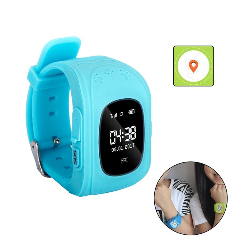Kid Orologi Intelligenti Q50 £ Carta di Sostegno SIM SOS di Chiamata Posizione Anti-Perso Tracker per i bambini Monitor Remoto Android Smartwatch