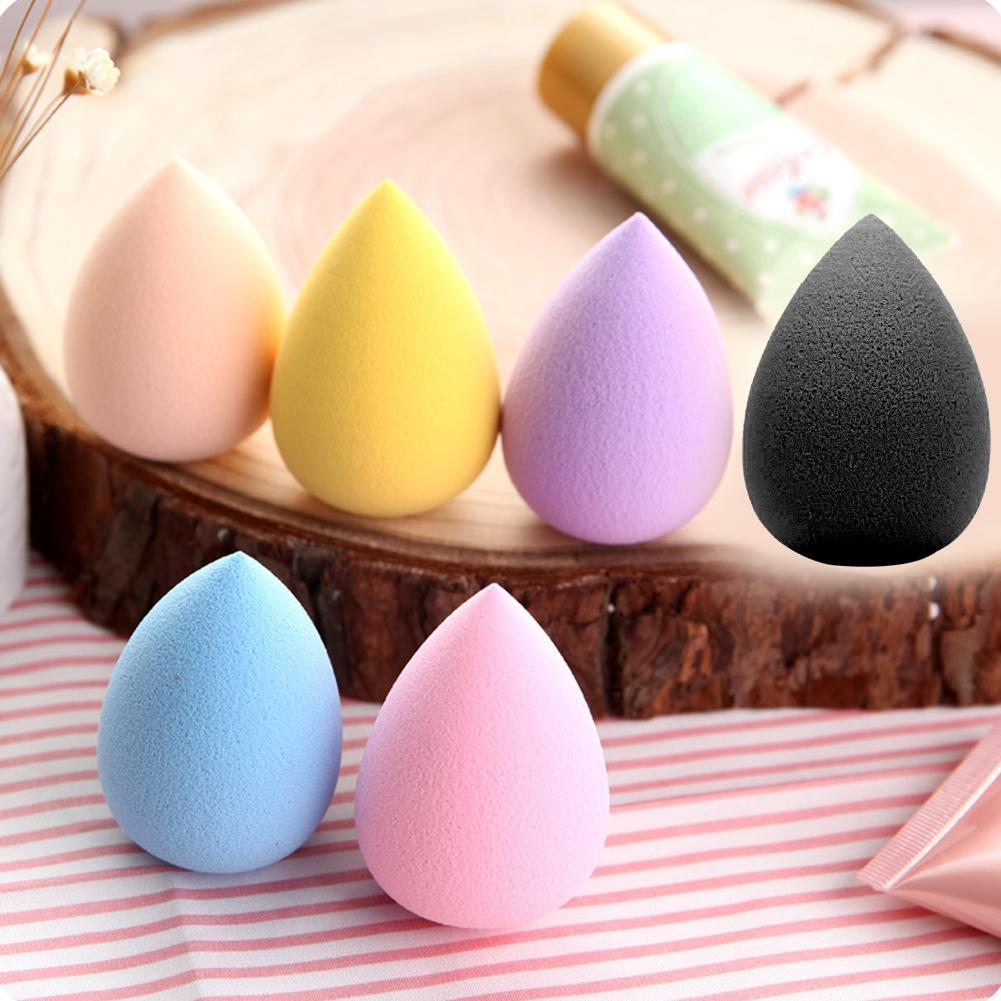 1PC Water Droplets Soft Beauty Makeup Sponge Puff brochas maquillaje profesional pinceaux maquillage set pennelli trucco new #7