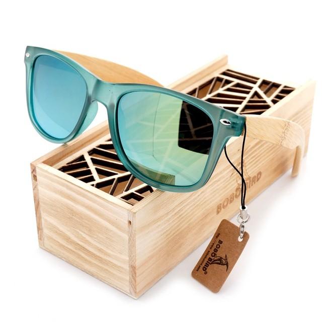 Bamboo Polarized Sunglasses