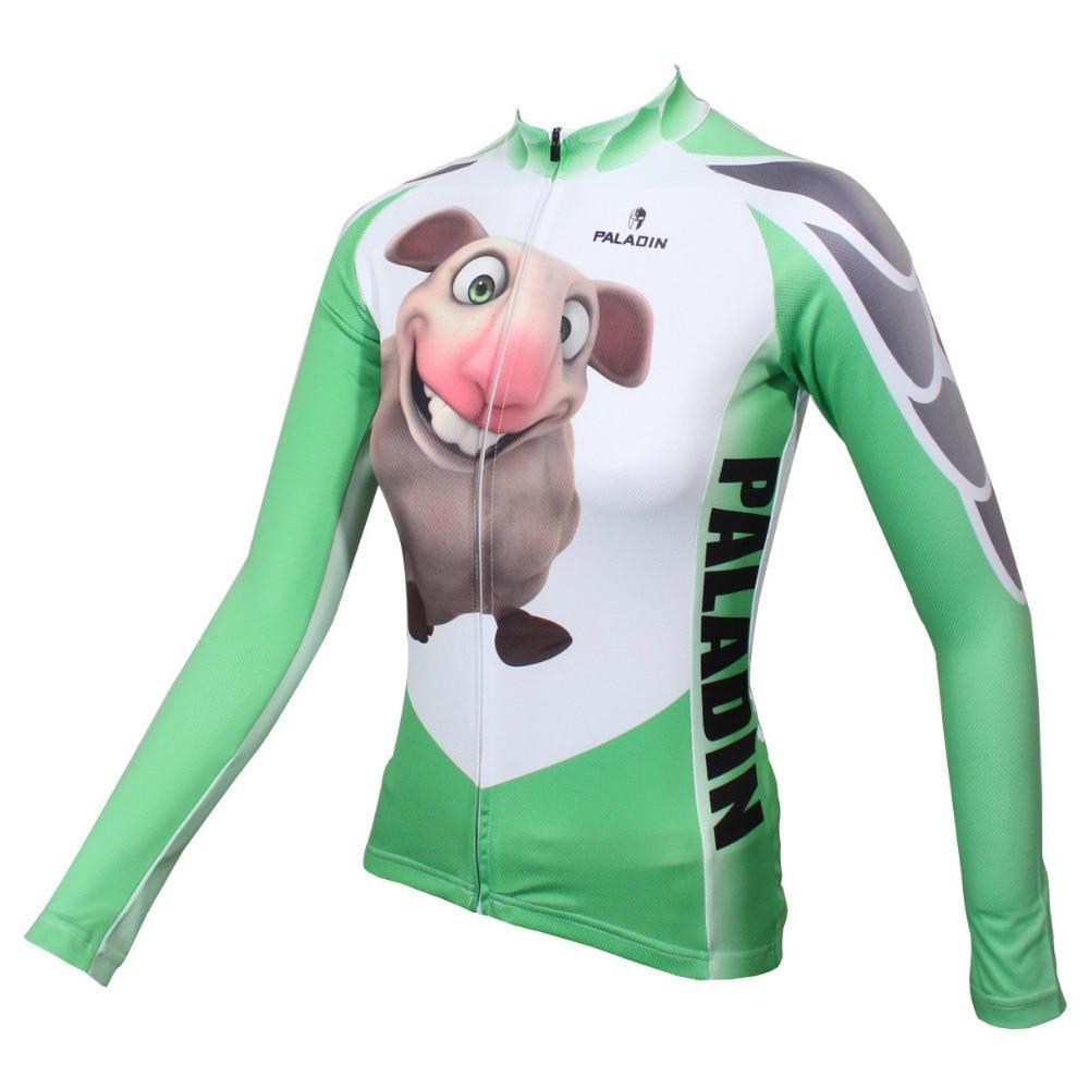 PALADIN   3D Lamb  Womens Long Sleeve Cycling Jersey Bike Shirt Cycling ClothingPALADIN   3D Lamb  Womens Long Sleeve Cycling Jersey Bike Shirt Cycling Clothing