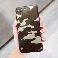 Case For iphone 6s 6 s plus iphone8 7plus Military Camouflage Army Green Camo Soft Silicon Cover Coque For iphone 7 8 plus Cases