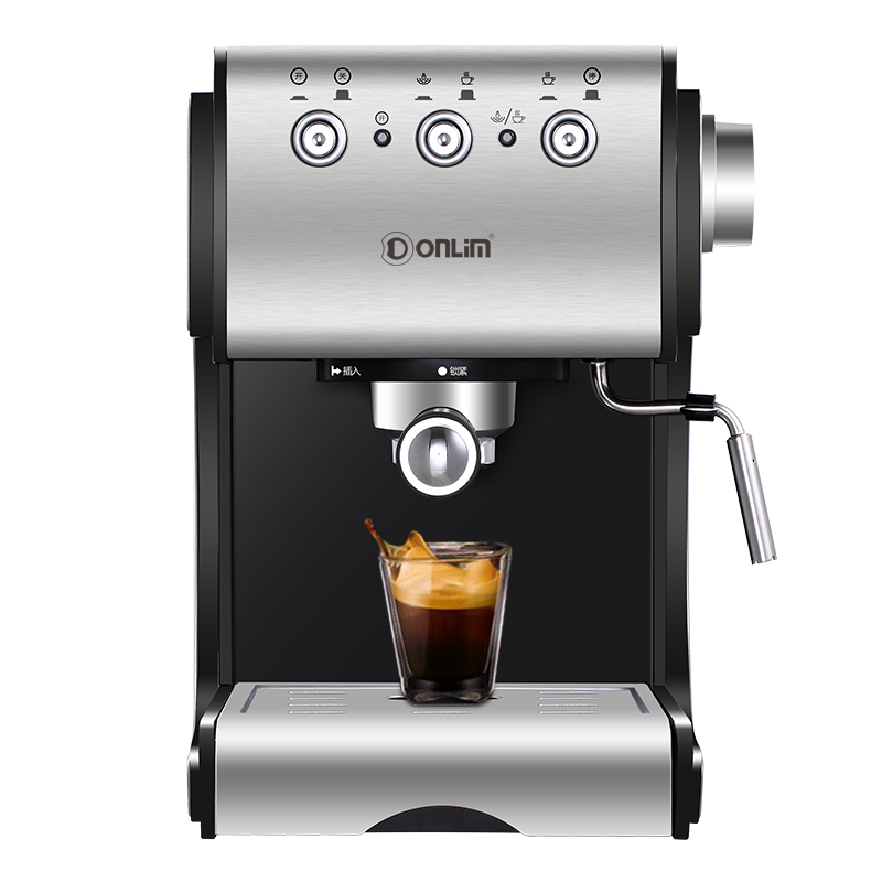Donlim DL-KF500S Coffee machine Household Semi-automatic Espresso machine Commercial Steam type Milk foam