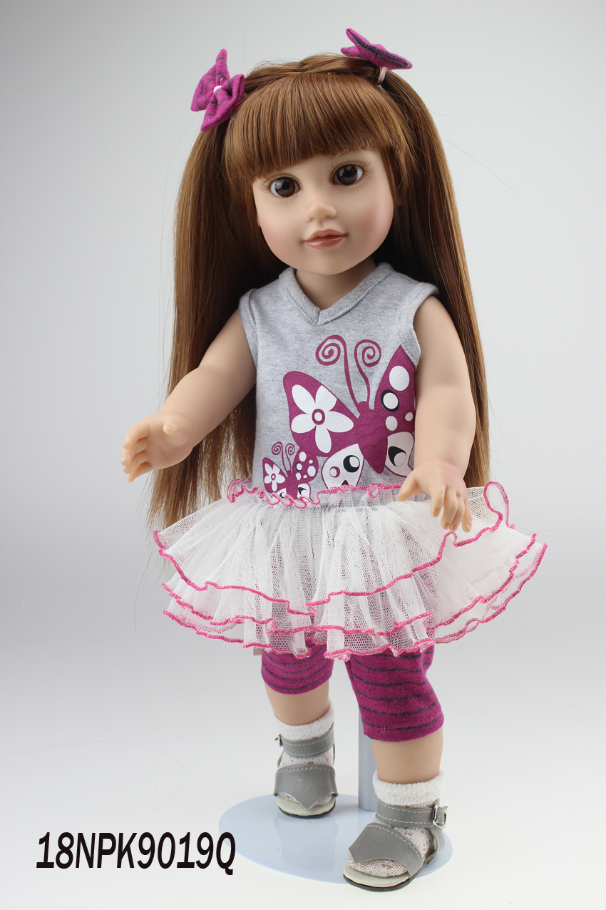 Girl Toy Figures : New wholesale americcn girl doll dollie me journey