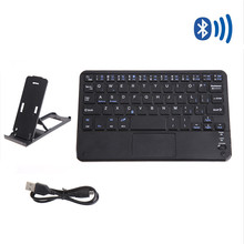 7″ Untra Thin Bluetooth Keyboard with Touchpad for Computer Wireless Gaming Teclado Gamer Sem fio Klavye for Tablet PC Phone