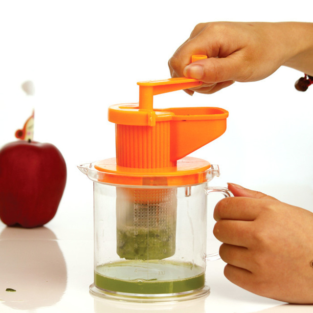 2eec66bd90d Healthy baby Juicer Manual Hand Powered Wheatgrass Juicer Wheat grass  juicer juice squeezer Mini Fruit Citrus orange Juicer-in Mills from Home    Garden on ...