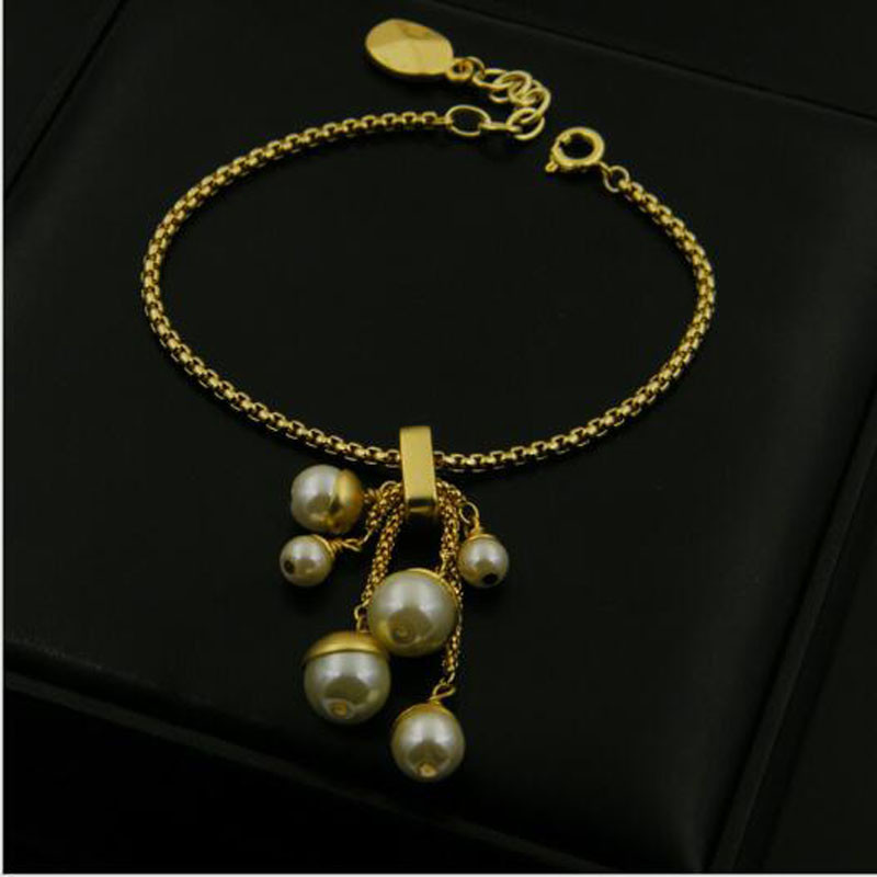 Luxury Famous Brand Jewelry Gold Plated Bracelets for Women Pulseira Feminina Chain Chakra Bracelet Femme Pulseras Mujer