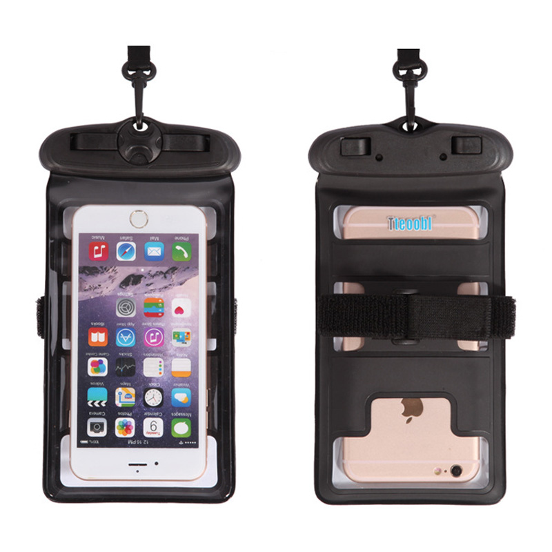 Waterproof Drifting Universal Phone Bag Swimming Driving Touch Screen - Arts, Crafts and Sewing - Photo 3