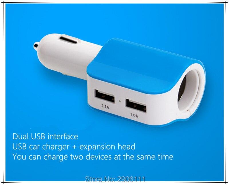 Car styling dual USB Car Charger Universal quick for iPhone Samsung Xiaomi for Nissan qashqai tiida almera juke primera x-trail