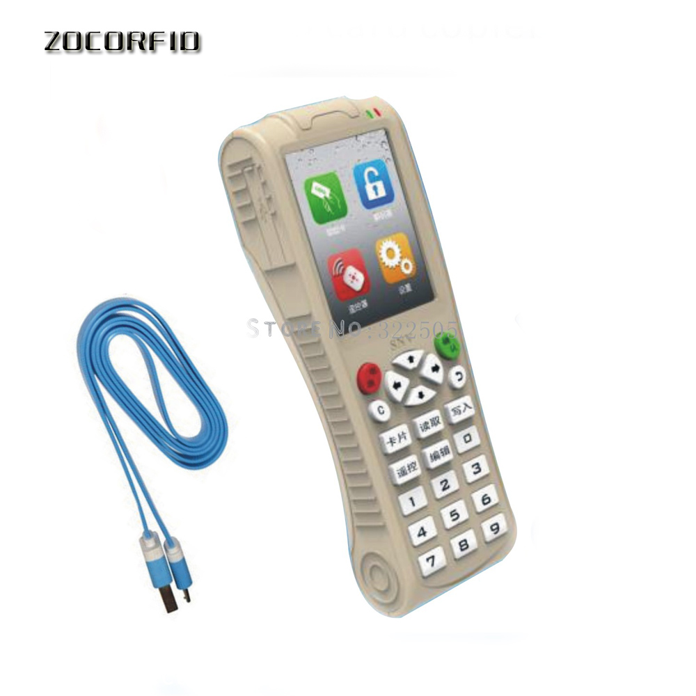 Super Handheld lithium battery more frequency RFID Copier NFC RFID Duplicator Pub Apartment Card