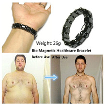 2018 new  Health slimming Bracelets & Bangles Jewelry bio magnetic Bracelet charm bracelets For Women weight loss
