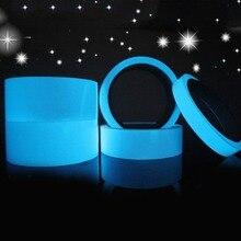 Флэш Дело красочные отражающие ленты свечение самоклеящаяся Стикеры Световой Флуоресцентные светящиеся ленты темно ярких Предупреждение лента