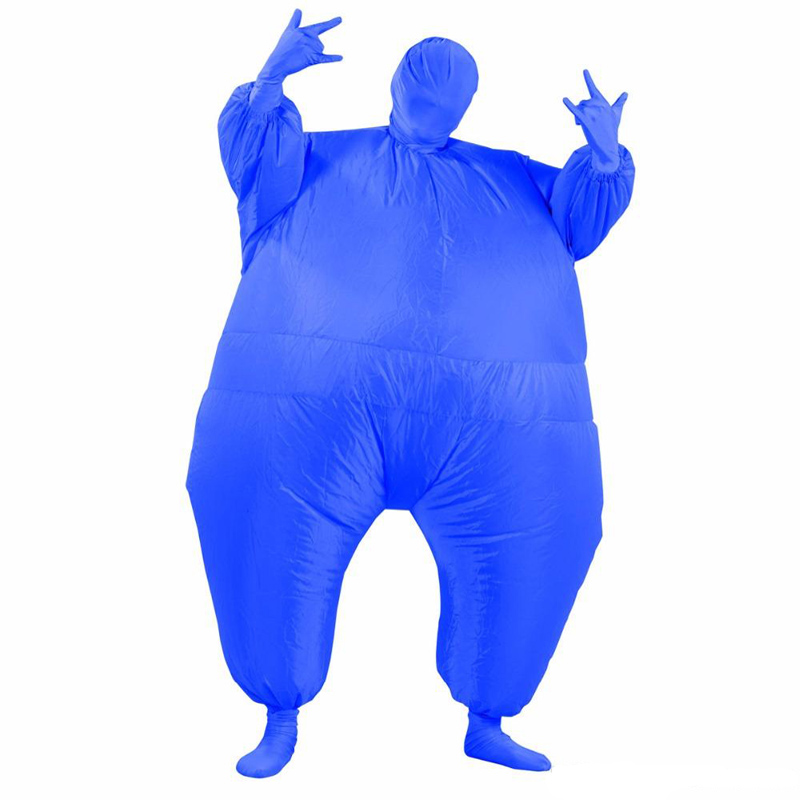 10 Colors Adult Sumo Inflatable Costume One Size Christmas Halloween Party Clothes Carnival Adultos Cosplay Full Body Outfit