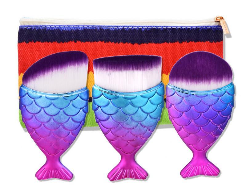 Tesoura de Maquiagem foundation pó make up tool Material da Escova : Cabelo Sintético, nylon, fibra de lã