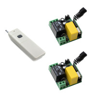 Smart Home AC 220V 1CH 10A Wireless Relay Switch Wireless Remote Control Switches Radio Light Switch