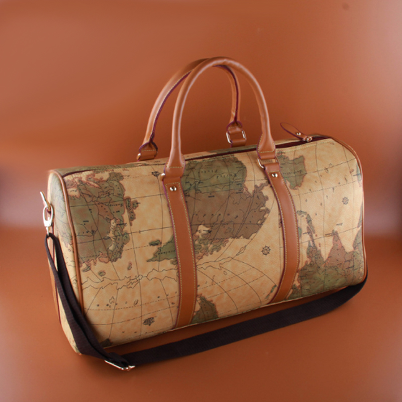 Big capacity world map men travel bag vintage women luggage travel big capacity world map men travel bag vintage women luggage travel bags duffel waterproof female duffle bag sac de voyage in totes from luggage bags on gumiabroncs Gallery