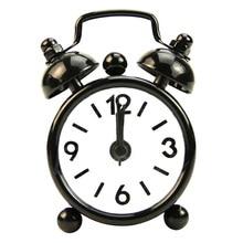Reloj despertador clásico Vintage, reloj electrónico de mesa de escritorio, reloj despertador mecánico, reloj de viaje Vibrati