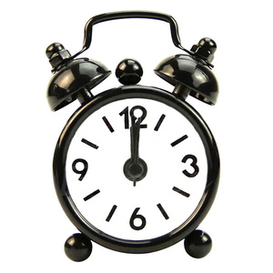 Classic Vintage Alarm Clock Electronic Desk Table Watch Mechanical Alarm clock Travel Vibrati