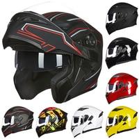 2016 DOT Approved Motorcycle Helmet Safety Helmet With Visor Racing Motocross Quad Dirt Bike Helmet