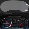 Car Dashboard Paint Protective Film For Volkswagen POLO 2012 2013 2014 2015 4H Scratchproof 99% Light Transmitting Accessories