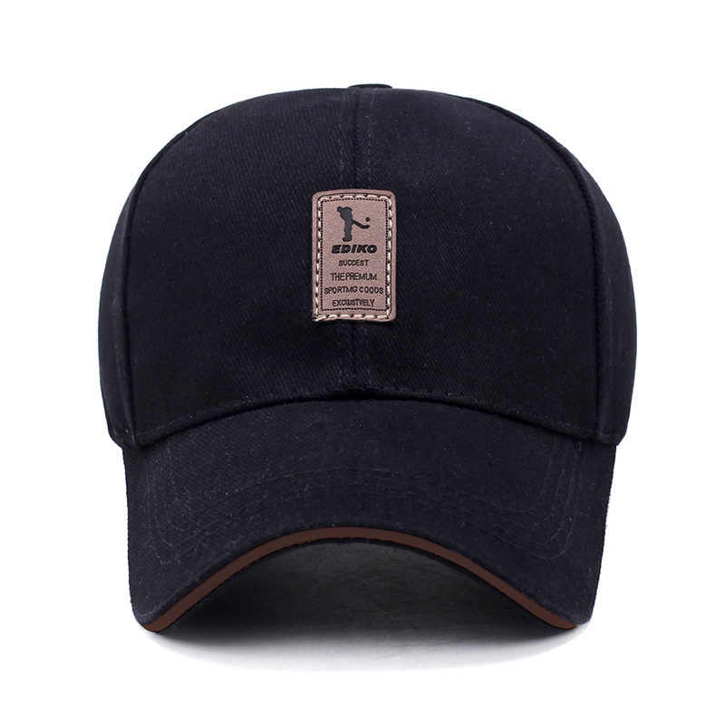 399fdaedaea ... 2019 New High Quality Brand Baseball Cap EDIKO Casual Hat Spring Man  Woman Cotton Adjustable Dad ...