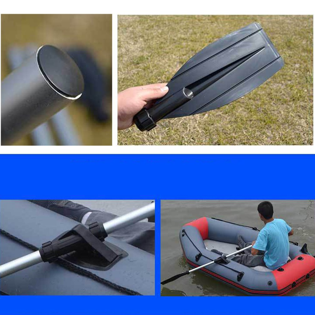 US $3 58 5% OFF 126cm Aluminum Alloy Detachable Float Afloat Oars Fitting  Boat Rafting Paddle Canoe Oar boating Accessories drop shipping-in Rowing