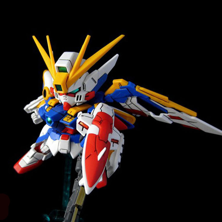 Gundam Figures 9cm Wing Angel Action Anime Hot Toys For Children Kids Gifts Brinquedos With Box