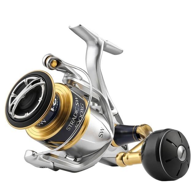1b722cab15e 2018 New Shimano Stradic SW 4000XG 4000HG 5000XG 5000PG Spinning Reel 6.2:1  Saltwater 6+1BB 11kg Drag X-SHIP HAGANE Fishing Reel