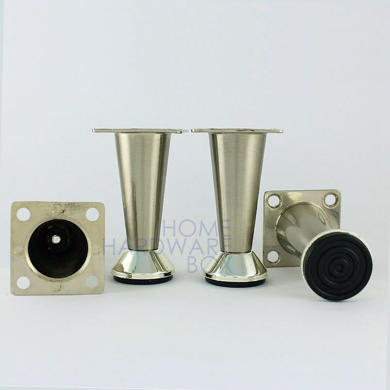 Metal table legs furniture cabinet stand stainless steel for Table armoire inox