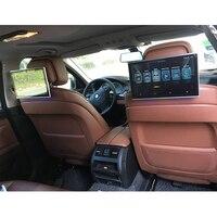 11,6 дюймов 2 шт. автомобильный монитор подголовника Android с bluetooth aux, свободные руки, fm передатчик, автомобильный bluetooth с поддержкой HDMI aux out/USB SD к