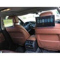 YAZH 11.6 inch 2pcs Car android9.0 headrest monitor 1920*1080 HD aux fm transmitter car bluetooth support HDMI input USB SD Card