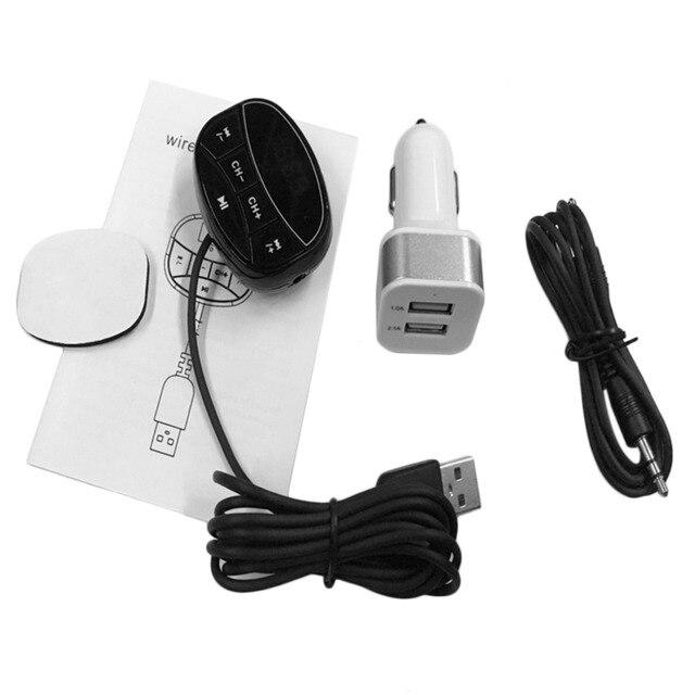 Hot Newest HK012D Car Bluetooth MP3 Black USB Interface Audio Music Receiver...