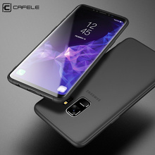 цена на CAFELE TPU Case for Samsung Galaxy S9 Plus Ultra Thin Soft Cover for Samsung Galaxy S9 Transparent Foldable Protective Full Case